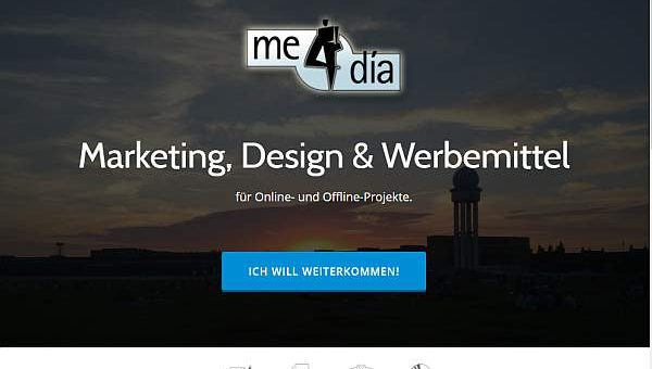 me4dia macht auch Websites!