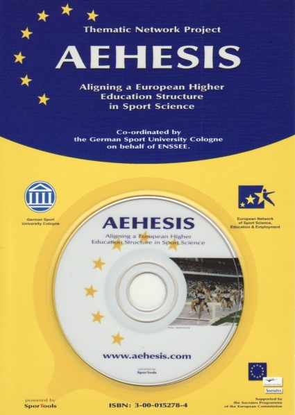 AHESIS publication information CD