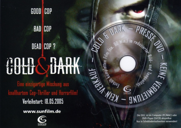 Cold & Dark Presse-DVD